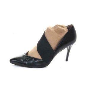Stuart weitzman pumps heels black leathe